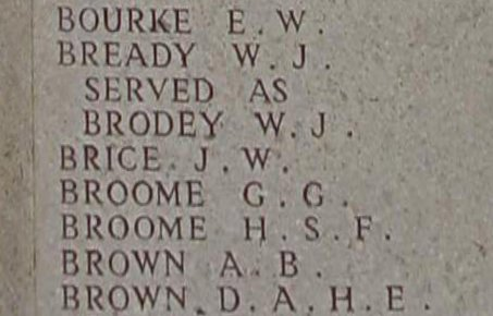 Geoffrey Broome on the Lone Pine Memorial, Gallipoli