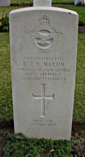 Russell Martin at Alexandria (Chatby) Military and War Memorial Cemetery